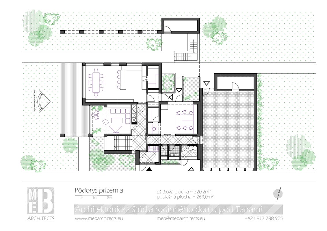 Meb architects projekty family house under the tatras the biggest room in the house therefore is playroom where children have the opportunity to play ball games throughout all year jameslax Images